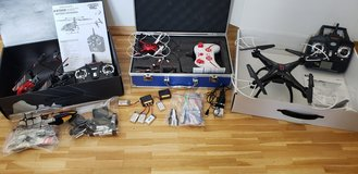Drone Bundle + RC Helicopters in Stuttgart, GE