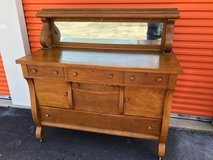 Qtr Sawn Oak Sideboard Buffet in Cherry Point, North Carolina