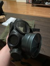US Military M40 Gas Mask size small with bag in Fort Campbell, Kentucky