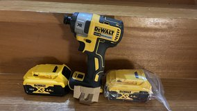 Dewalt 18-Volt Impact Driver (100-Volt Japanese Charger) New, Never Used in Okinawa, Japan