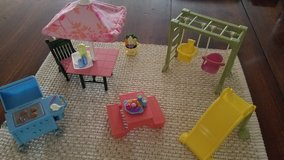Fisher-Price dollhouse outdoor sets in Naperville, Illinois