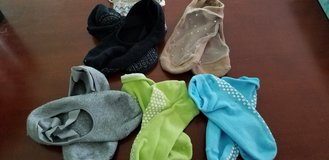 Assorted pairs of Sticky Socks in Naperville, Illinois