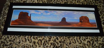 LAST CHANCE REDUCED Framed Poster Monument Valley in 29 Palms, California