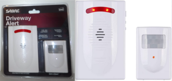 New! SABRE Driveway Alarm – Wireless Motion Sensor Security System in Naperville, Illinois