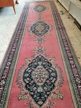 Beautiful Persian carpet hand-knotted runner Carpet Rug  352 x 95 cm ( 138x37 inches ) in Wiesbaden, GE