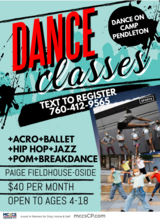 Dance Classes in Camp Pendleton, California