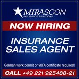 Insurance Sales Agent in Ramstein, Germany