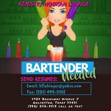 Hookah Lounge Bartender Needed in Pearland, Texas