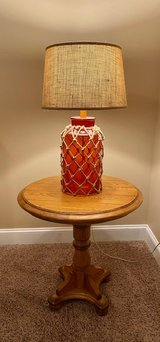 Solid Oak Round End Table in Beaufort, South Carolina