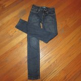 Jeans Girls 10 SLIM Skinny Old Navy Like New Considered Dk Blue in Naperville, Illinois