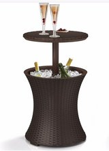 Keter Pacific Cool Bar Outdoor Patio Furniture - New - Damaged in Naperville, Illinois
