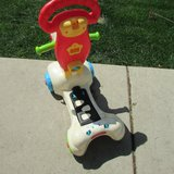 Sit To Stand Learning Toy VTech Ride On, Raised Seat, Scooter Electronic Lots of Buttons in Naperville, Illinois