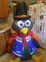 Inflatable Turkey in Naperville, Illinois