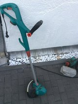 Bosch 220V weedeater in Ramstein, Germany
