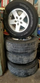 2010 Jeep wrangler tires and wheels in Kingwood, Texas