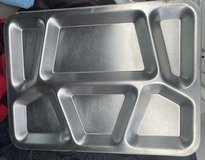 Vintage Stainless Steel Mess Trays in Okinawa, Japan