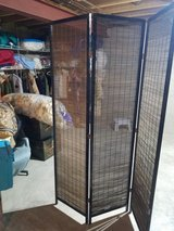 6 ft three section bamboo partition in Naperville, Illinois