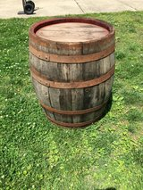 Whiskey/Wine barrel in Fort Campbell, Kentucky