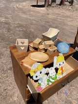 lots of wood items for crafters in Alamogordo, New Mexico