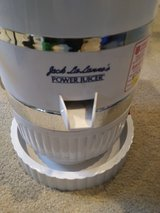 Jack LaLanne's power juicer in Naperville, Illinois