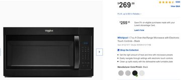 Brand New Microwave for mounting over stove or hang under cabniet. in Alamogordo, New Mexico