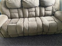 Tan Recliner Couch in Okinawa, Japan