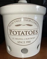 """3-Piece Chefs """"Fresh Valley Farm"""" Lidded Stoneware Crock Canister Set in Ramstein, Germany"""