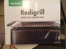 tenergy redigrill smoke less infrared grill new in unopened box in Naperville, Illinois