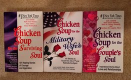 Assorted Chicken Soup books in Camp Lejeune, North Carolina
