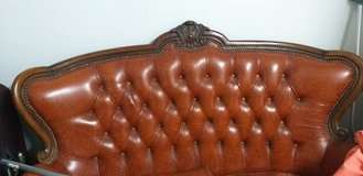 Antique  leather  couch in Stuttgart, GE