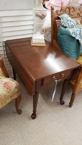 Broyhill Drop-Leaf End Table #1265-6274 in Camp Lejeune, North Carolina