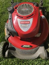 Craftsman Gold Gas Mower.  Mulches in Naperville, Illinois