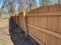 Fence in Naperville, Illinois