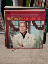 Vintage Christmas vinyl records in Camp Lejeune, North Carolina