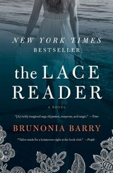 The Lace Reader by Brunonia Barry Hardcover in Okinawa, Japan