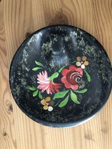 Bavarian painted ashtray in Ramstein, Germany