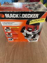 brand new black and decker router 10amp in Okinawa, Japan