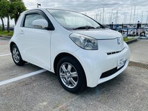 2010 Toyota iQ 130G leather package running 50700km DBA-NGJ10 in Okinawa, Japan