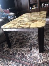 Marble table in Ramstein, Germany