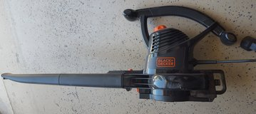 Leaf Blower with attachments. Used once. in Alamogordo, New Mexico