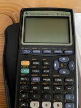 TI-83 Texas Instruments in Ramstein, Germany