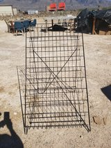 Black wire display (folds down flat to take with you in Alamogordo, New Mexico