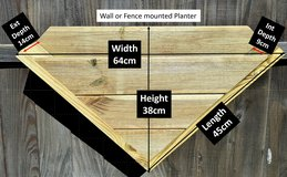 Planter for Wall or Fence in Lakenheath, UK