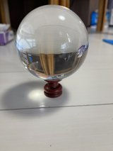 Crystal ball with stand in great condition in Okinawa, Japan