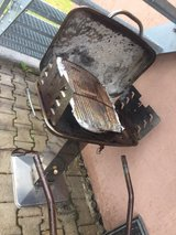 stainless steel grill in Ramstein, Germany