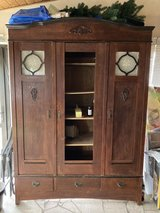 Solid wood cabinet in Ramstein, Germany
