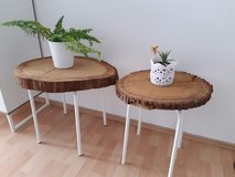 Plant Stands Set of Two Rustic Look in Ramstein, Germany