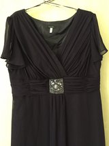 Purple ankle length ball gown size 48 in Ramstein, Germany