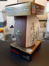 NFL Autographed Mini Football signed by Randy White in Conroe, Texas
