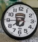101st Airborne Wall Clock in Fort Campbell, Kentucky